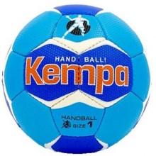 Гандбольный мяч Kempa HB-5407 (сшит вручную, синий-темно-синий)