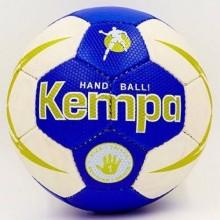Гандбольный мяч Kempa HB-5411 (сшит вручную, синий-белый)