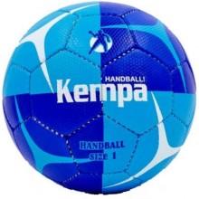 Гандбольный мяч Kempa HB-5412 (сшит вручную, синий-темно-синий)